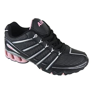 Womens Shock Absorbing Running Trainer Shoes Size UK 8