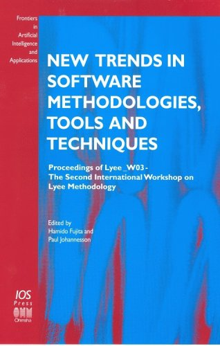 New Trends in Software Methodologies, Tools and Techniques