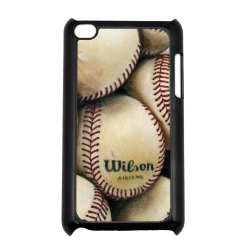 Baseballs iPod Touch 4g Black Hard Case  Original