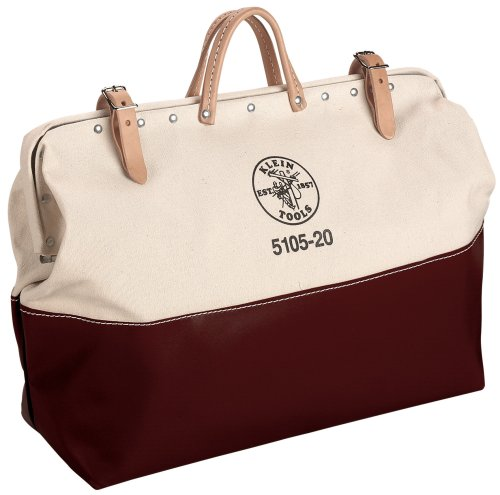 Images for Klein 5105-24 High-Bottom Canvas Tool Bag, 24-Inch