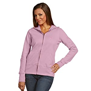 NHL Pittsburgh Penguins Women's Signature Hoodie, Mid Pink, Large
