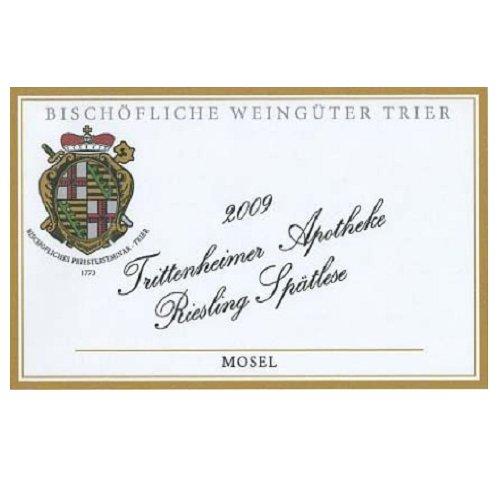 2009 Bischoflichen Weinguter Trittenheimer Apotheke Riesling Spatlese, Mosel 750 Ml