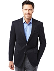Performance Notch Lapel 2 Button Blazer with Wool