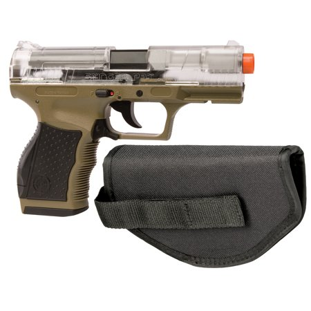Crosman ASP9CDE Stinger Airsoft Pistol with Holster and Practice BB's (Clear/Dark Earth): Amazon.ca: Sports & Outdoors