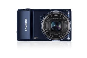 """Samsung WB200F Appareil photo numérique 14,2 Mpix Ecran 3"""" WiFi USB Noir"""