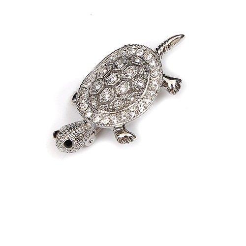 Crystal Gem Turtle Pin #021483