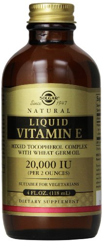 Natural Liquid Vitamin E, 4 fl oz (118.4 ml)
