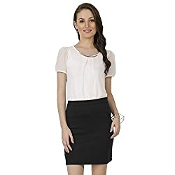 Chimpaaanzee Women Pencil Skirt Black