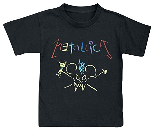 Metallica Crayon Maglia bimbo/a nero 86/92