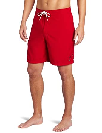 Nautica Men's Anchor Cargo Swim Trunk, Nautica Red, XX-Large