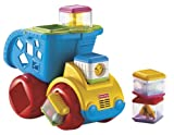 Fisher-Price Peek a Blocks Rollin Rumblin Dump Truck