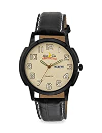ALPINE CLUB 013-YEL-BLK-BLK IBP MEN'S WATCH BY SWISS MILITARY