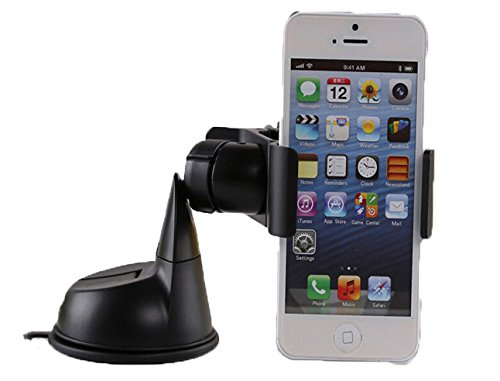 Gtopin(Tm) Universal Car Mount Holder For Iphone 6/6 Plus/5S/5C/5/4S/4/3Gs, Ipod Touch, Samsung Galaxy S5/S4/S3 Car Mount, Samsung Galaxy Note 4/3/2 Car Mount, Car Holder For Lg G3/G2/G Flex/Pro 2/Optimus/Nexus, Car Mount For Htc One M8/M7/Mini/Max/One X,