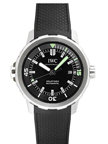 [アイダブリューシー] IWC 腕時計 アクアタイマー オートマティック ブラック IW329001 メンズ 新品 [並行輸入品]