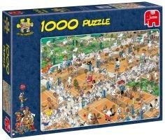 Cheap Jumbo Jumbo 'The Tennis Court' 1000 Piece Jigsaw Puzzle by Jan van Haasteren (B004IEGM3I)