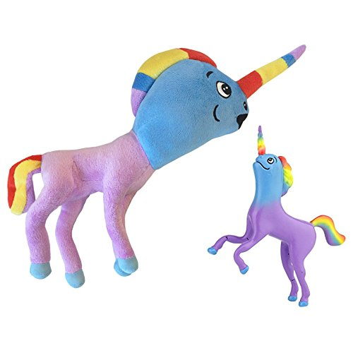 "Narwhalicorn ""Half Unicorn - Half Narwhal"" (Majestic Bendable and Plush)"