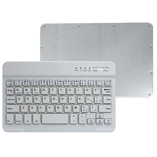 Hatop Ultra Slim Aluminum Wireless Bluetooth Keyboard For IOS Android PC