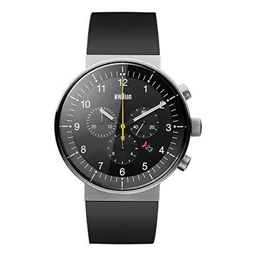 braun-bn0095bkslbkg-reloj-analogico-de-cuarzo-unisex-correa-de-caucho-color-negro