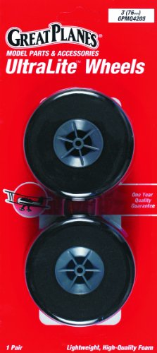 Great Planes Ultralite Wheels 3 (2-Piece)
