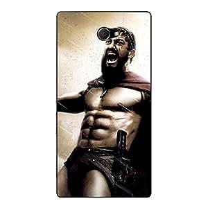 Jugaaduu King Leonidas Spartan Back Cover Case For Sony Xperia M2 Dual