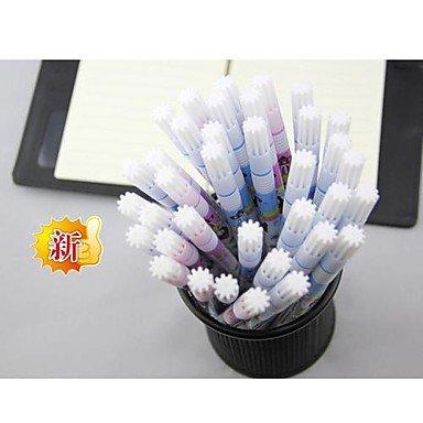 LWW Borrable Tinta Azul Gel Ink Pen (azul)