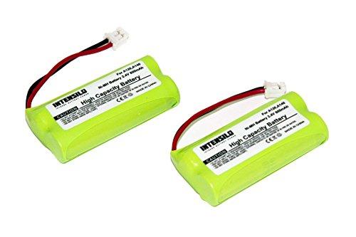 INTENSILO 2x NiMH Batteria 800mAh (2.4V) per Telefono Fisso Cordless Siemens Gigaset A345, AL14, AL145 sostituisce V30145-K1310-X359