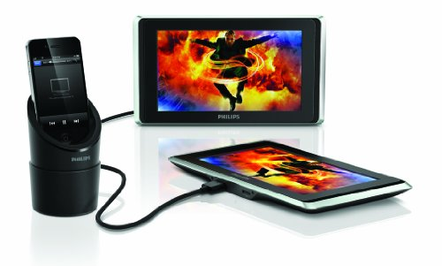 Philips PV9002i/37 TwinPlay 9-Inch Dual Screen In-Car Videoviewer for iPod, iPhone and iPad (Discontinued by Manufacturer) (Discontinued by Manufacturer)