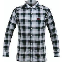 Dakine Men's Chuck Plaid Shirt, Black, Small