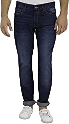 Highlander Men's Slim Fit Jeans (13140001455876_HLJN000492_38W x 33L_blue)