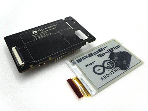 [GPG] Arduino用電子ペーパー(e-paper eink)シールドと2.7インチ電子ペーパーディスプレイセット