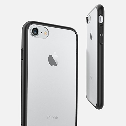 iPhone-7-Case-Spigen-Ultra-Hybrid-AIR-CUSHION-Black-Clear-back-panel-TPU-bumper-for-Apple-iPhone-7-2016-042CS20446