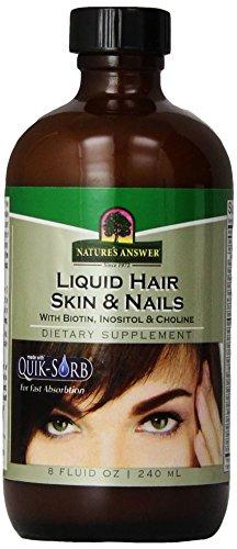 Nature's Answer Liquid Hair Skin & Nails Form Dietary Supplement 235 ml