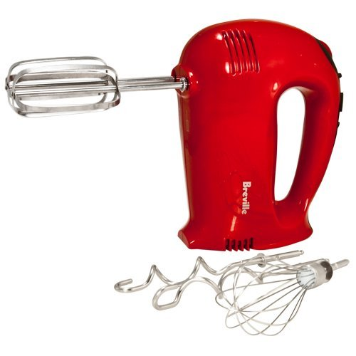 Breville BHM500RXL Handy Mix Digital Hand Mixer, Red (Hand Mixer Digital compare prices)