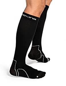 Skins Essentials Comp Socks Recovery, Black, XS, B59001934XS