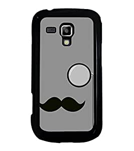 Moustache Uncle 2D Hard Polycarbonate Designer Back Case Cover for Samsung Galaxy S Duos 2 S7582 :: Samsung Galaxy S Duos II