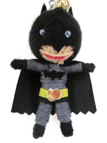 Batman Voodoo String Doll Keychain