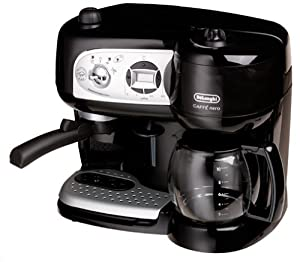 Delonghi bco264b cafe nero combo coffee and espresso maker combi - Machine a cafe grain delonghi ...