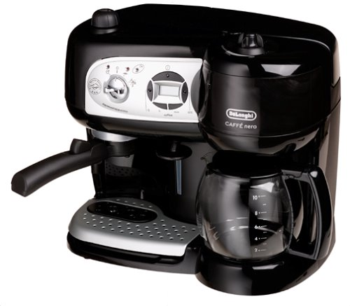 Delonghi BCO264B Cafe Nero Combo Coffee and Espresso Maker