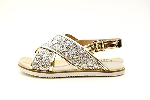 Relish sandalo da donna oro 38