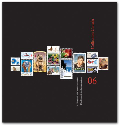 Canada Post's 2006 Annual Yearly Stamp Collector's Album Including all of 2006's Issued Stamps (Canada Post compare prices)