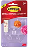 Command Party Ceiling Hooks, 3-Hooks, 4-Strips