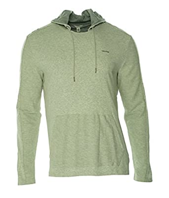 Calvin Klein Men's Long-Sleeve Blocked Interlock Hoodie Sweatshirt