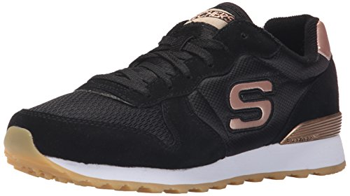 skechers-og-85-goldn-gurl-damen-sneakers-schwarz-blk-39-eu