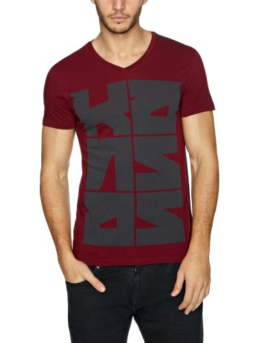 Lee Vn Printed Men's T-Shirt Tawny Port Medium
