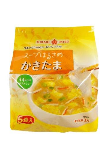 ひかり味噌 スープはるさめ かきたま 5食×12個