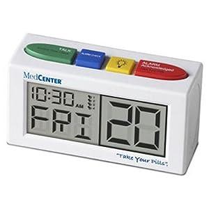 Medcenter Talking Alarm Clock And Medication Reminder