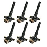 BMW 6 Ignition Coil 323 325 328 330 Z3 525 528 540 740 X5 M3 Convertible Touring #12131748017 # 0221504029