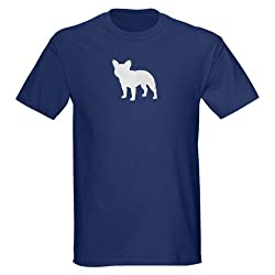 French Bulldog French bulldog Dark T-Shirt by CafePress - L Navy