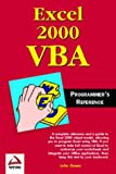 Excel 2000 VBA Programmers Reference (1861002548) by Green, John