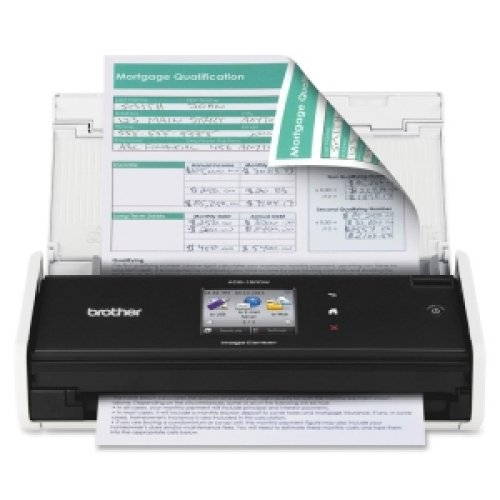 BROTHER Sheetfed Scanner ADS-1500W COMPACT CLR SCANNER UP TO 18PPM DUPLEX / ADS-1500W / (Scanner Brother Ads 1500 compare prices)